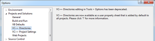 VS2012_ToolsOptionsDirectories